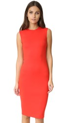 Mcq By Alexander Mcqueen Cutout Dress Flame