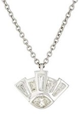 Finn Women's Eye Of Providence Necklace Colorless