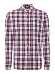 Howick Carcross Check Shirt Red