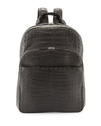 Santiago Gonzalez Caiman Crocodile Backpack Gray