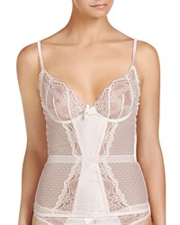 Stella Mccartney Mia Loving Lace Trim Corset Floral White