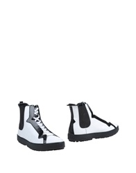 Hogan Ankle Boots White