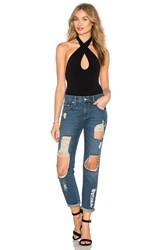 Motel Cross Bodysuit Black