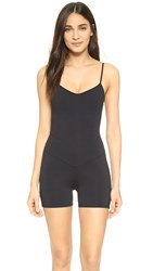 Live The Process Corset Romper Black