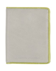 Alessandro Dell'acqua Wallets Grey