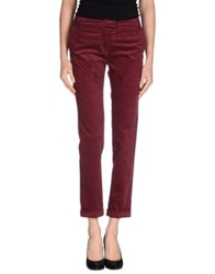 Sessun Casual Pants Maroon
