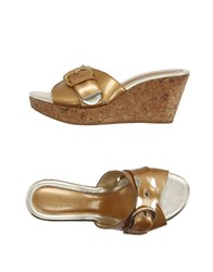 Chiara Pasquini Footwear Sandals Women Bronze