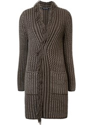 Iris Von Arnim 'Bakerloo' Cardigan Brown