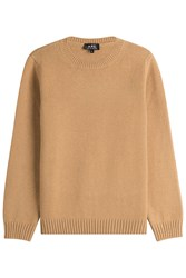A.P.C. Wool Pullover Camel