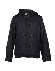 Sundek Mid Length Jackets Black