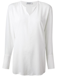 Dondup Loose Fit Blouse White
