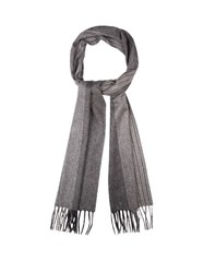 Colombo Cashmere Scarf Grey Multi