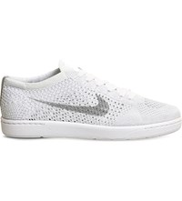 Nike Tennis Classic Ultra Flyknit Trainers White Wolf Grey