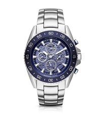 Michael Kors Jetmaster Automatic Silver Tone Watch