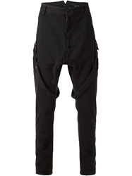 Alexandre Plokhov Drop Crotch Cargo Trousers