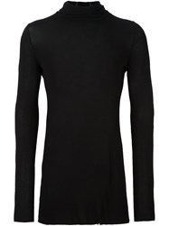 Masnada High Neck Longsleeved Pullover Black