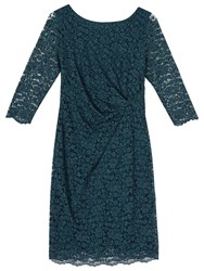Precis Petite Paige Lace Dress Mid Green