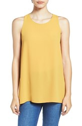 Lush Women's Side Slit Tank Sunflower