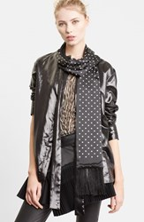 Women's Haider Ackermann Polka Dot Silk Scarf