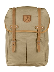 Fjall Raven Small No. 21 Canvas And Leather Backpack Sand