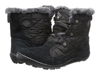 Columbia Minx Shorty Omni Heat Black Shale Women's Hiking Boots