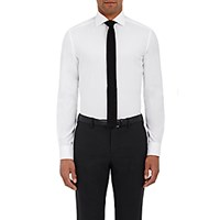 Ralph Lauren Black Label Men's Tailored Fit Button Front Shirt White