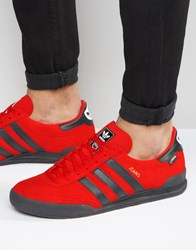Adidas Originals Jeans Gtx Trainers In Red S80001 Red
