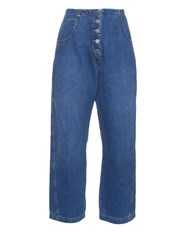 Rachel Comey Elkin High Waisted Cropped Jeans