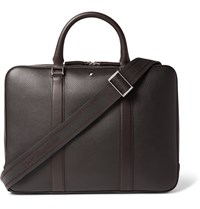 Montblanc Full Grain Leather Briefcase Brown