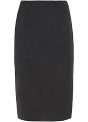 Austin Reed Prince Of Wales Check Skirt Charcoal