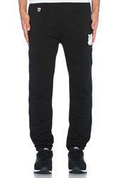 Undefeated Right Fielder Sweatpant Black And White