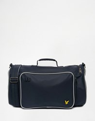 Lyle And Scott Duffle Bag Blue