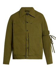 Craig Green Double Patch Pocket Cotton Blend Field Jacket Green