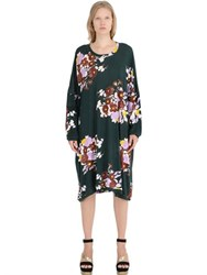 Yvonne S Floral Cotton Jersey Dress