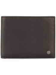 Orciani 'Valley' Billfold Wallet Black