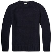 Dries Van Noten Tim Crew Knit Navy