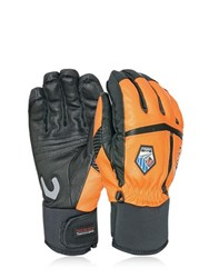 Level Off Piste Leather Ski Gloves