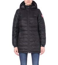 Canada Goose' Camp Down Hooded Jacket - Women's Black/Graphte, XS