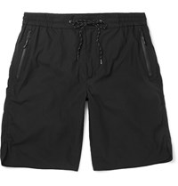Marvy Jamoke Panelled Cotton Blend Shorts Black