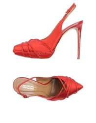 Rodo Pumps Red