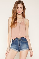 Forever 21 Cuffed Denim Shorts