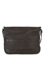 Allsaints Storm Leather Messenger Bag