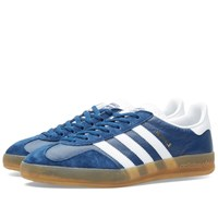 Adidas Gazelle Indoor Oxford Blue White And Gum