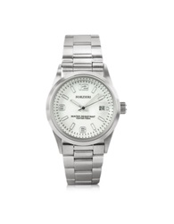Forzieri Roger Mini Stainless Steel Women's Watch Silver