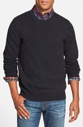 Men's Ben Sherman Optical Bubble Knit Crewneck Sweater