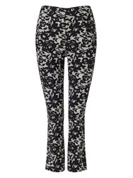 Phase Eight Elise Lace Trousers Black