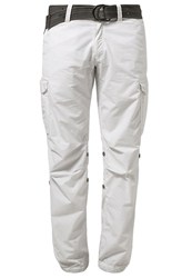 Schott Nyc Cargo Trousers White
