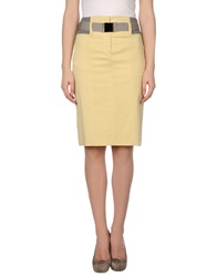 Gunex 3 4 Length Skirts Beige