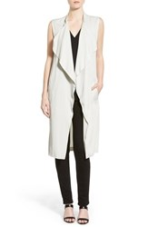 Women's Cupcakes And Cashmere 'Bryce' Drape Front Long Vest