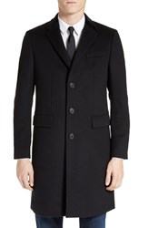Burberry Men's Bishopsgate Wool And Cashmere Topcoat